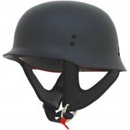 AFX FX-88 Solid Helmet , Distinct Name: Gloss Black, Gender: MensUnisex, Helmet Category: Street, Helmet Type: Half Helmets, Primary Color: Black, Size: Lg 0103-1073