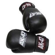 AK-47 MMA Leather Muay ThaiBoxing Gloves