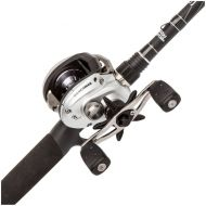 Abu Garcia Silver Max Low Profile Baitcast Reel and Fishing Rod Combo