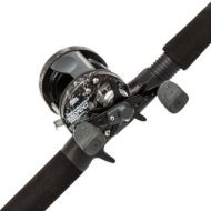 Abu Garcia Catfish Commando Baitcast Reel and Fishing Rod Combo