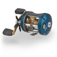 Abu Garcia Ambassadeur C4 Baitcast Round Reel 6600, 6.3:1 Gear Ratio, 5 Bearings, 30 Retrieve Rate, 15 Lb Max Drag, Rh