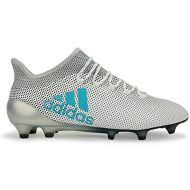 Adidas ADIDAS MENS X 17.1 FG WHITEENERGY BLUECLEAR GREY Shoes