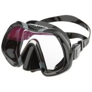 Atomic Aquatics Venom Mask, Black Skirt - BlackRed, no ARC