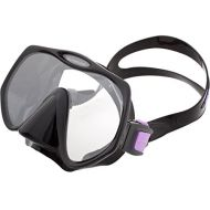 Atomic Aquatics Frameless Scuba Diving Dive Mask (PurpleBlack Medium (Smaller faces))