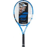Babolat Pure Drive 25 Junior BlueWhite Tennis Racquet Strung with Custom Racket String Colors