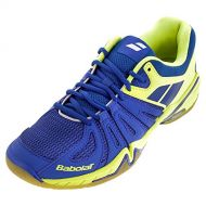 Babolat Men`s Shadow Spirit Tennis Shoes Blue and Yellow-(30S1611-235U16)