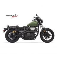 Bassani Exhaust Bassani Radial Sweepers Exhaust For Yamaha Bolt 2014-2019