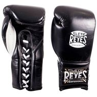 Cleto Reyes Training Gloves With laces and attached thumb - Black - 12oz