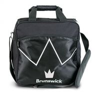 Brunswick Blitz Single Tote Bowling Bag, Black