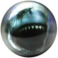 Brunswick Bowling Products Shark Glow Viz-A-Ball Bowling Ball