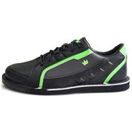 Brunswick Bowling Products Brunswick Mens Punisher Bowling Shoes Right Hand- Black/Neon Green