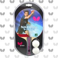 Butterfly Nakama S-7 Table Tennis Racket - Sapphira 1.9mm Rubbers - ITTF Approved