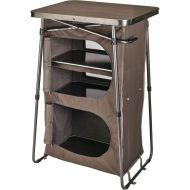 Cabelas Dual-Height Three-Shelf Camp Cupboard