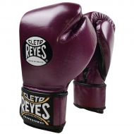 Cleto Reyes Lace Up Hook Loop Hybrid Boxing Gloves - Purple