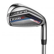 Cobra King F7 Junior OL Irons 5-SW wSteel Shafts