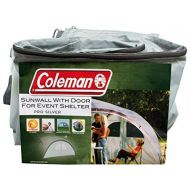 Coleman Side Panel for Event Shelter L and Event Shelter Pro L 3.6 x 3.6 m, Gazebo Side Panel with Door and Window, Sun Protection, Water Resistant