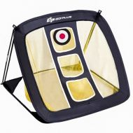 Costway Pop Up Golf Chipping Net for Accuracy & Swing Practice In/Outdoor Carrying Bag