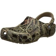 Crocs Mens and Womens Classic Realtree Clog | Comfort Slip On Camo Casual Shoe | Lightweight