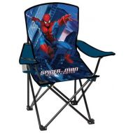Exxel Folding Camp Arm-Chair for Kids: Marvel Spider*Sense Spiderman