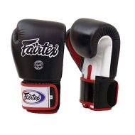 Fairtex Muay Thai - Boxing Gloves. BGV1 Color:BlackWhite. Size: 10 12 14 16 oz. Training, Sparring Gloves for Boxing, Kick Boxing, MMA.