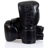 Fairtex Genuine Micro Fiber Boxing Gloves Super Black Version