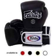 Fairtex Muay Thai Boxing Gloves BGV9 - Heavy Hitter Mexican Style - Minor Change Navy Blue 12 14 16 oz. Training & Sparring Gloves for Kick Boxing MMA K1