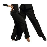 GloriaDance G4005 Latin Modern Ballroom Dance Professional Straight Pocket Trousers Pants for Men and Women