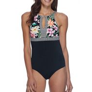 Gloves Body Glove Skye Womens Olivia High-Neck One Piece Swimsuit