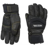 Hestra Mens and Womens Winter Ski Gloves: Vertical Cut Freeride Leather Glove with Thermolite Insulation