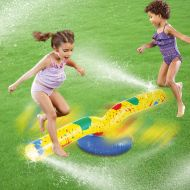 [직배송][추가금없음]HIWENA Inflatable Sprinkler Skip Jump Water Fun for Children Kids Water Spray Outdoor Play Garden Lawn Fun Toys piscina (Have Video)