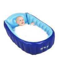 [직배송][추가금없음]Hewolf Inflatable Baby Bath Shower Swimming Pool Plastic Inflatable Kids Bath Shower Swimming Pool 90x55x25cm Bath Shower Swimming Pool