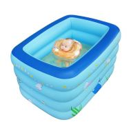 [직배송][추가금없음]Inflatable swimming pool baby Large warm keeping 4 layers kids bathtub Portable Bathtub 145x105x76cm