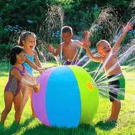 [직배송][추가금없음]AOTU Inflatable Spray Water Ball Children's Summer Outdoor Swimming Beach Pool Play The Lawn Balls Playing Smash It Toys