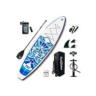 "[직배송][추가금없음]Funwater FunWater 10'6""*33""*6""Inflatable Paddle Board Sup W Paddle,Bag,Leash,Pump,Phone Bag"