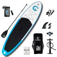 "[직배송][추가금없음]Funwater FunWater 11'*33""*6"" Inflatable Paddle Board Sup W' Paddle,Bag,Leash,Pump,Phone Bag"