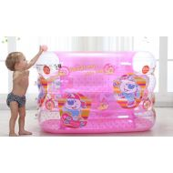Inflatable Pink Princess Baby Pool Family Children Baby Swimming Bucket Bucket