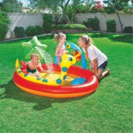 Inflatable Paddling Pools Baby Swimming Pool Kiddie Squirting Pools Thickening Plastic Kids Splash Play Center