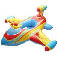 Baby Swimming Ring,Child Inflatable Swimming Toddler Safety Aid Float Seat Ring,Aircraft Shape,Fit 1...