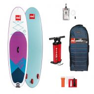 Red Paddle Co 106 X 32 Ride MSL (Special Edition) Inflatable Stand Up Paddleboard Purple/White/Blue