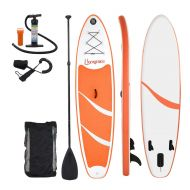 Inflatable SUP Surfboards Stand Up Paddle Board with Carry Backpack Outdoor Double Layer Thickening Paddle Pump Kit