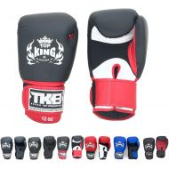 KINGTOP Top King Gloves Color Black White Red Blue Gold Size 8, 10, 12, 14, 16 oz Design Air, Empower, Superstar, and more for Training and Sparring Muay Thai, Boxing, Kickboxing, MMA