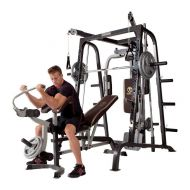 Marcy Fitness Marcy Deluxe Diamond Elite Smith Cage Home Workout Machine Total Body Gym System