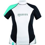 Mares Womens She Dive Rash Guard Loose Fit, Short Sleeve