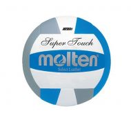 Molten Super Touch Premium Leather Volleyball - BlueGray