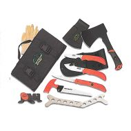 OUTDOOR EDGE CUTLERY CORP OUTDOOR EDGE OUTFITTER CLEANING KIT MULTIPLE 65MN CARBON STEEL 8 PIECE SET