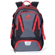 Osprey Ozark Trail 35L Choteau Heavy-duty Ripstop Material, Hydration-compatible, Multiple Storage Compartment, Daypack Backpack with 2 Water Bottle Pockets, Black/Red