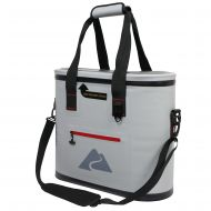 Ozark Trail 30 Can Leak-tight Cooler with Heat Welded Body, Gray