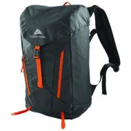 Ozark Trail Lightweight Durable 28 Liter Atka Hydration Daypack for Outdoors, Biking, Hiking, Camping (GrayBlackOrange)