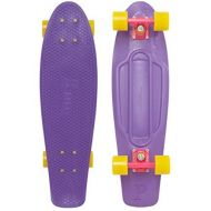 Penny Plastic Nickel Purple  Pink  Yellow Complete Skateboard Cruiser - 7.5 x 27