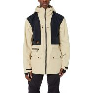 Quiksilver Mens Black Alder 2l Gore-tex Snow Jacket